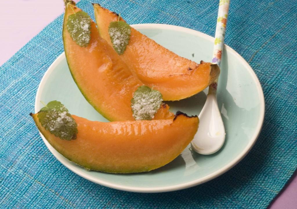 Melon rôti